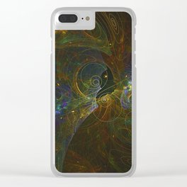 Universal Harmonics Clear iPhone Case