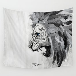 Lion - The king of the jungle Wall Tapestry