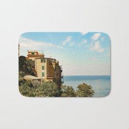 House on the Coast of Cinque Terre Bath Mat