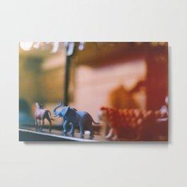 Animal Parade Metal Print