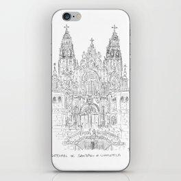 Cathedral of Santiago De Compostela iPhone Skin