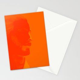 L'homme - flame Stationery Cards