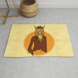 {Bosque Animal} Lince Rug