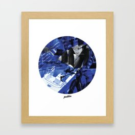 Sky Colours Framed Art Print