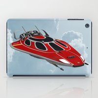 spaceship iPad Cases featuring Spaceship by Design Windmill