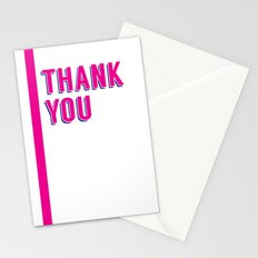 thank you 2 Stationery Cards