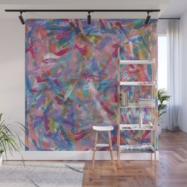 Art Studio Experimentation Wall Mural