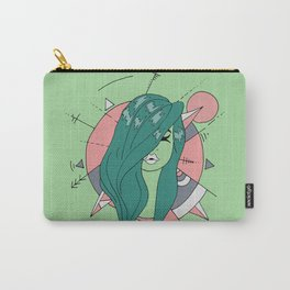 leafy Carry-All Pouch