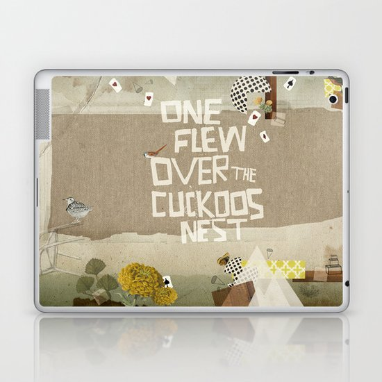 One Flew Over The Cuckoos Nest Quotes: One Flew Over The Cuckoos Nest Laptop & IPad Skin By