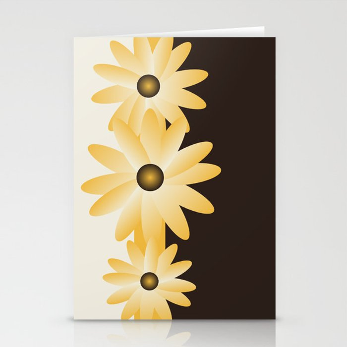Y Flowers Stationery Cards