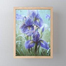 Imagine - Fantasy iris fairies Framed Mini Art Print