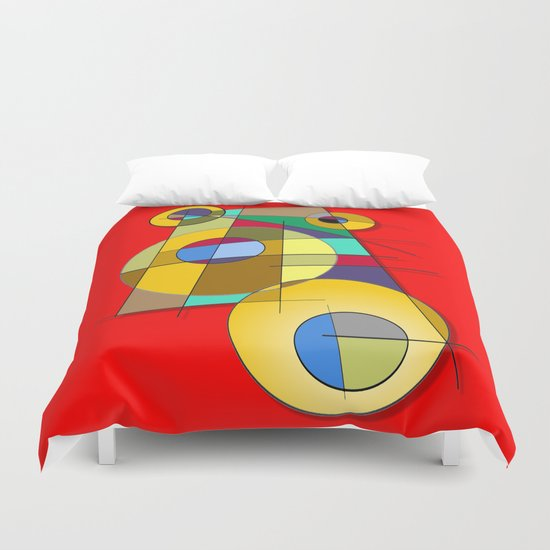 Abstract #51 Duvet Cover
