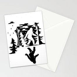 Seattle Sasquatch Stationery Cards