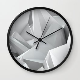 White Noiz Wall Clock