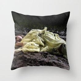 Birthing Capricorn Throw Pillow