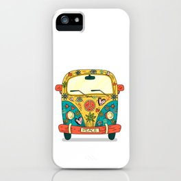 Hippie Bus iPhone Case