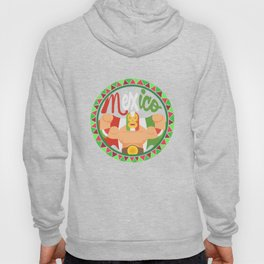 Mexican Wrestler Lucha Libre graphic for Mexican Wrestling Hoody