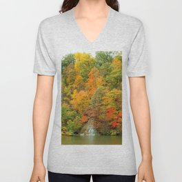 Magestic Fall Unisex V-Neck