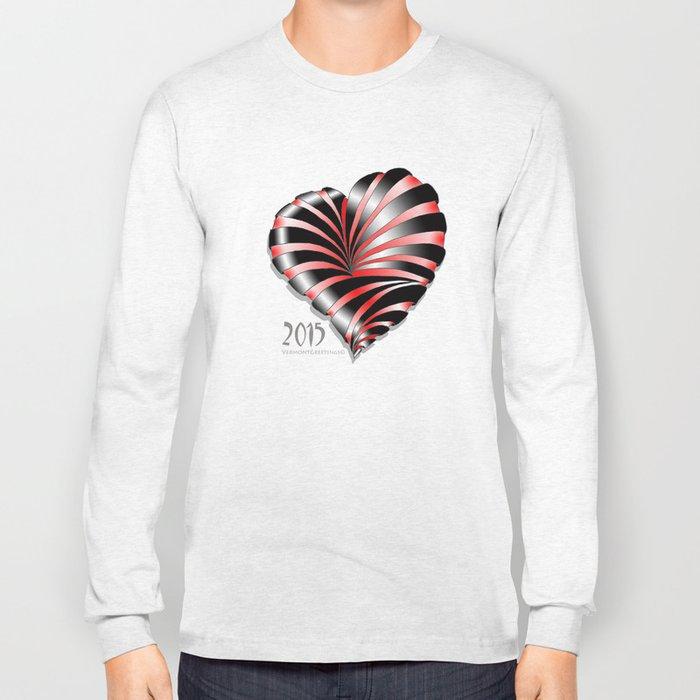 Forever love Valentine Illustration Long Sleeve T-shirt