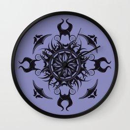 Maleficent Mandala Wall Clock