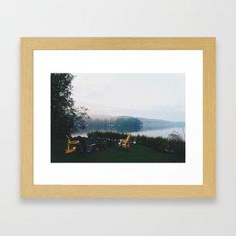 Muskoka before Dusk Framed Art Print