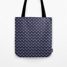 Blue Fish Eye Tote Bag