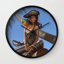 Kidds Treasure Wall Clock