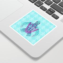 Tomas in Aqua Sticker