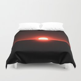Sunset on Sanibel Island Duvet Cover