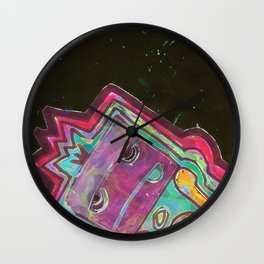 Rising Square dude Wall Clock