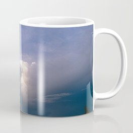 Ray of Hope in the Stormy Sky Coffee Mug