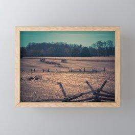 View of Antietam National Battlefield Civil War Battleground Maryland Framed Mini Art Print