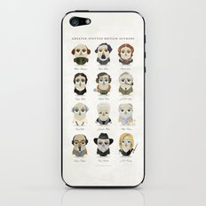 Greater-Spotted British Authors iPhone & iPod Skin