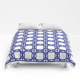DG GEOMETRIC – COBALT BLUE Comforters