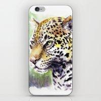 jaguar iPhone & iPod Skins featuring Jaguar by Juan Pablo Cortes