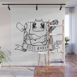 Boss Baker Wall Mural