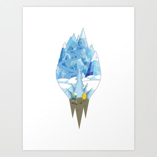 Adventure Scene Art Print