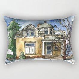 The Little Brown Bungalow Rectangular Pillow
