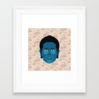 seinfeld Framed Art Prints featuring Jerry Seinfeld - Seinfeld by Kuki