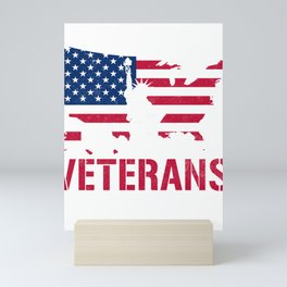 Thank You for your Service Veterans Mini Art Print