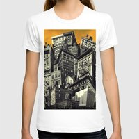 cityscape T-shirts featuring Cityscape by Chris Lord