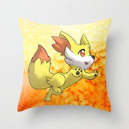 Fennekin Throw Pillow