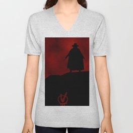 V for Vendetta (e3) Unisex V-Neck