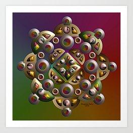 Ornament, 2340g Art Print
