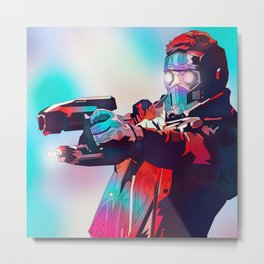 Star Lord, Guardians of the Galaxy, TheAvengers Metal Print