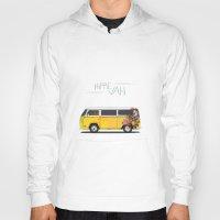 hippie Hoodies featuring Hippie Van by Good Wave