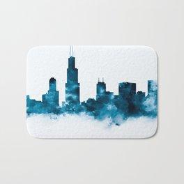 Chicago Skyline Bath Mat