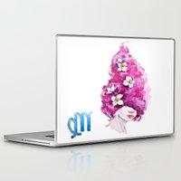virgo Laptop & iPad Skins featuring Virgo by Aloke Design