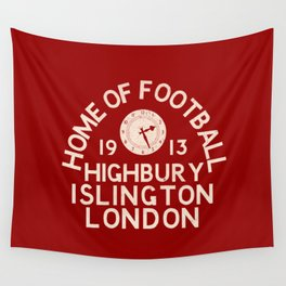 Highbury Football Ground Wall Tapestry