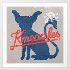 Kneazles Art Print